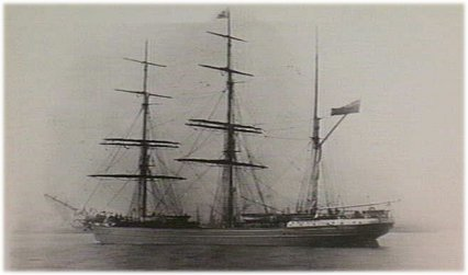 Earl Derby 961 tons iron barque ...1877