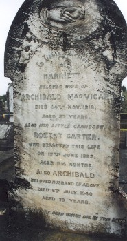Click to go to Waikaraka Cemetery Database