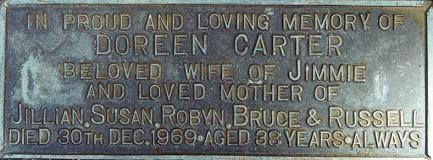 Doreen Carter - In Loving Memory