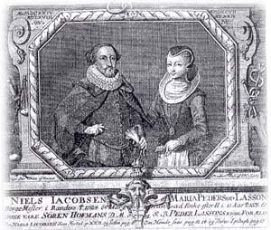 Niels Jacobsen and Marie Lasson
